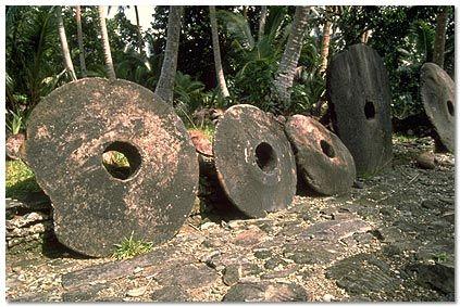 Monedele de piatră ale insulei Yap