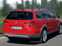 Volkswagen Passat, acum si in varianta SUV! GALERIE FOTO