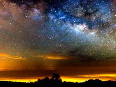 VIDEO HD. Cum se vede Calea Lactee de pe cel mai inalt munte din Spania