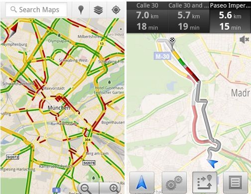 Care e drumul cel mai liber? Iti spune Google Maps