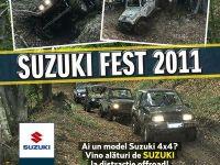 (P) SUZUKI FEST 2011, intre 11-14 august la Sighisoara