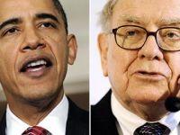 Intalnirea gigantilor. Obama i-a cerut sfatul lui Waren Buffett in privinta cresterii economice