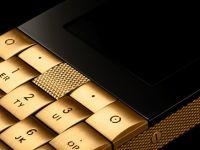 O companie daneza vrea sa dea lovitura cu telefonul de colectie, din aur masiv. Aparatul costa cat un apartament de doua camere in Bucuresti FOTO