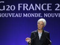"Christine Lagarde avertizeaza asupra riscului unei ""spirale de instabilitate financiara"""