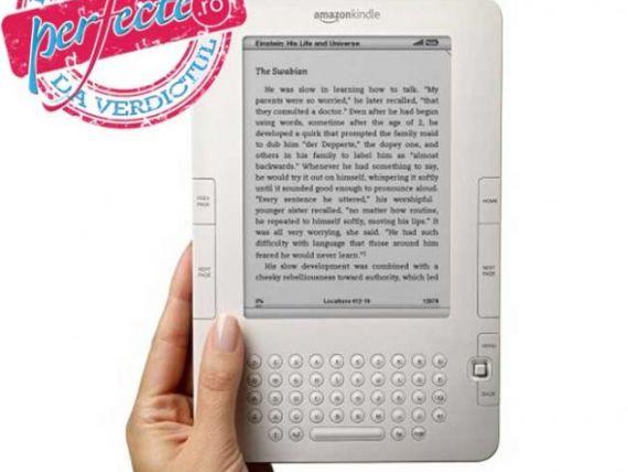 Amazon Kindle, sau cum sa umbli cu biblioteca in poseta