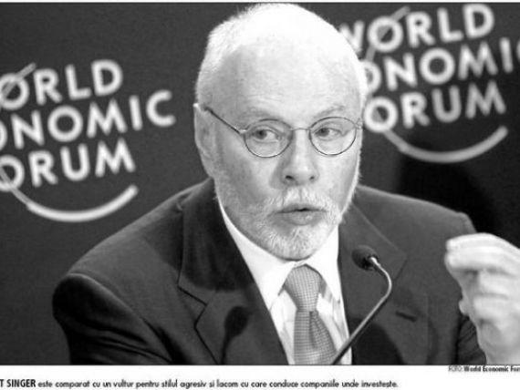 Cine este Paul Singer, bdquo;vulturul  de pe Wall Street, care a investit peste 100 mil. euro in Fondul Proprietatea