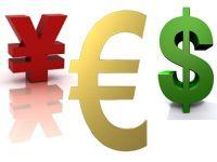 Euro a scazut la minimul ultimilor 10 ani fata de yen si la cel mai redus nivel din ultimele 12 luni in raport cu dolarul