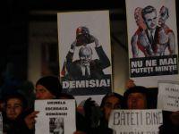 O alta Romanie, cu substanta si mesaj, a protestat marti noapte in Piata Universitatii