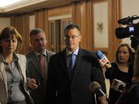 Ungureanu a ajuns la Palatul Victoria pentru discutii finale cu liderii coalitiei privind Guvernul. Curand va fi prezentata lista ministrilor