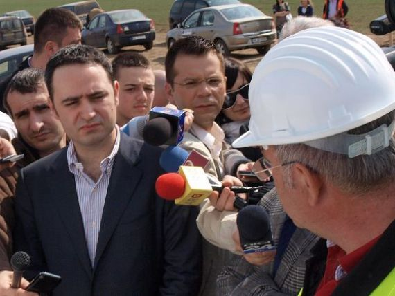 Nazare crede ca tronsonul I al Autostrazii Timisoara-Lugoj ar putea fi gata inainte de termen