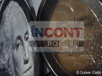 Euro scade in raport cu dolarul, din cauza temerilor legate de Grecia si Spania si a divergentelor dintre Germania si Franta