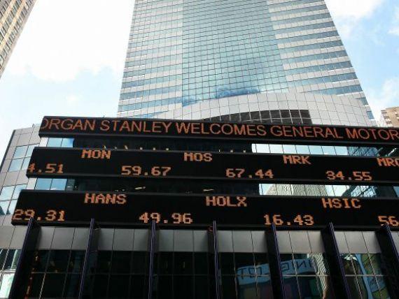 Moody s a pus la pamant marile banci din Occident. 15 institutii de credit au fost retrogradate