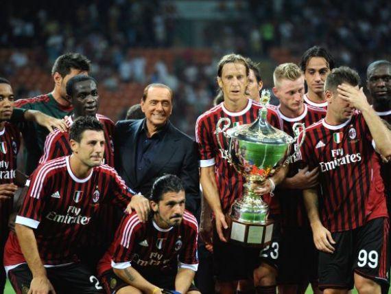 Berlusconi vinde clubul AC Milan investitorilor din Qatar care detin si PSG
