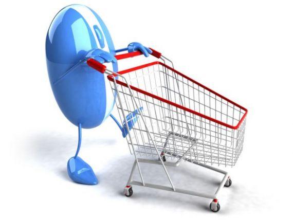 Cei mai multi romani fac cumparaturi online o singura data la trei luni. Ce produse sunt la mare cautare pe internet