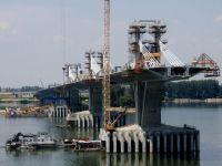 Al doilea pod peste Dunare intre Romania si Bulgaria va fi inaugurat miercuri FOTO