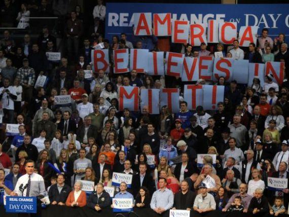 Wall Street il vrea pe Romney la Casa Alba: E  mai pro crestere economica