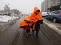 Dupa uraganul Sandy, New York e lovit de o furtuna hibernala