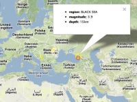 Cutremur in Marea Neagra