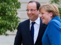 "Angela Merkel se considera ""foarte apropiata"" de Franta, in ciuda divergentelor cu presedintele Francois Hollande"