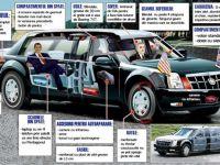 Secretele din masina lui Obama. Barack Obama. Cadillac-ul SF cu gadgeturi James Bond