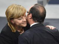 """Merkel: """"Germania si Franta vor face propuneri pentru o uniune monetara mai stabila"""""""