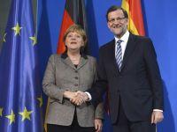 FMI: In Spania, insanatosirea bancilor este in stadiu avansat. Merkel spune ca Germania il va ajuta cu toata puterea pe Rajoy