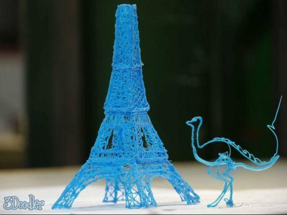 Inventii SF devenite realitate. Dupa imprimanta tridimensionala, stiloul 3D transforma gandurile in materie