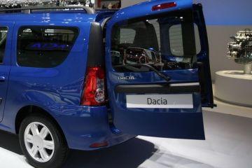 Imagini cu noul Logan MCV, lansat de Dacia la Geneva. Si, surpriza, un sistem in premiera pe o masina romaneasca