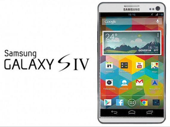 Samsung Galaxy S IV,  cel mai tare produs de la aparitia TV-ului color