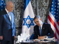 Doua rachete au fost lansate din Gaza catre sudul Israelului, in timpul vizitei lui Barack Obama