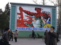 Rampe de lansare a unor rachete nord-coreene sunt orientate spre cer
