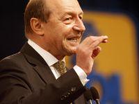 """Basescu: """"Sunt optimist privind economia Romaniei. Sunt semne bune in industrie si exporturi"""""""