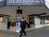 Debenhams a pierdut 3,8 milioane de lire pe hartie, in urma inchiderii magazinelor din Romania