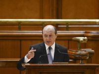"Basescu: ""Romania nu are nevoie de un presedinte care sa faca sa se astearna linistea"""