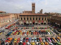 Lamborghini a sarbatorit cea de-a 50-a aniversare printr-o parada spectaculoasa pe strazile Italiei. FOTO