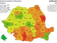 Evul mediu din Romania secolului 21. Judetul unde doar 29.8 % dintre locuinte au baie