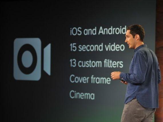 Utilizatorii Instagram pot incarca videoclipuri de 15 secunde in retea