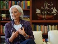 FMI anunta vizita directorului general, Christine Lagarde, la Bucuresti