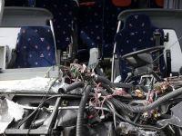 Un microbuz care transporta 9 romani s-a rasturnat pe autostrada, in Marea Britanie