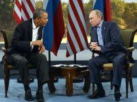 "Relatii incordate intre Washington si Moscova, din cauza scandalului Snowden. Obama isi tempereaza, totusi, declaratiile despre ""antiamericanismul"" Rusiei"