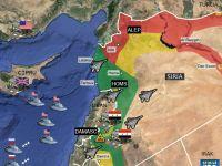 HARTA INTERACTIVA. Criza din Siria: zonele cheie si desfasurarea armata