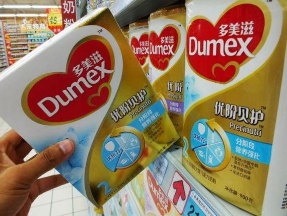 O marca de mancare pentru copii, detinuta de Danone, este investigata in China, sub acuzatia de dare de mita