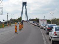 Traficul rutier pe podul de la Agigea este oprit pana in 25 mai, pentru reparatii