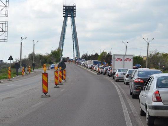 Podul de la Agigea se inchide dupa ani de reparatii. Bani cheltuiti fara logica de la buget, risc de prabusire iminent