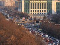 Atentionari meteo, blocaje in trafic, situatii de urgenta din Bucuresti, anuntate prin 36 de panouri in intersectii
