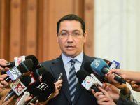 Ponta: Romania, defavorizata prin fondurile UE alocate pe 2014-2020. In cana e mai putin lapte