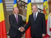 "Basescu, despre Republica Moldova: ""Urmatorul nostru obiectiv, vrem sa ne intregim tara. Sangele apa nu se face"""