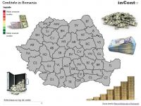 Cele mai datornice judete ale Romaniei. Cine sunt romanii ingropati in credite in lei si valute