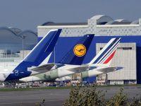 Toate zborurile Lufthansa programate pe aeroportul parizian Roissy, anulate