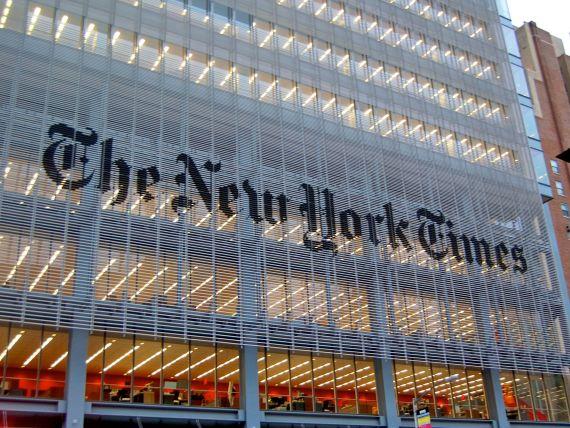 Un miliardar chinez vrea sa cumpere publicatia The New York Times